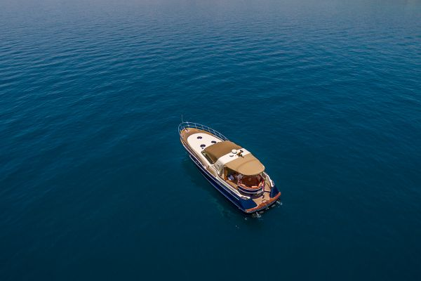 Explore Adriatic sea on a luxury yacht